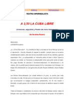 A 2.50 La Cuba Libre Ibrahin Guerra