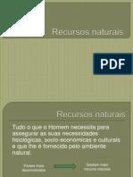 2. Recursos Naturais Intro