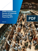 KPMG International Survey of Corporate Responsibility Reporting 2011