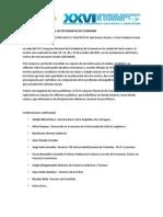 XXVI CONGRESO NACIONAL DE ESTUDIANTES DE ECONOMÍA