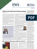 Utica College PRJ Newsletter - Spring 2010