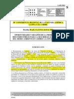 FAO-30a Confer en CIA ALC-Biocombustibles Seguridad Aliment Aria y Del Medioambiente-Abril2008