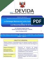 DEVIDA - La Estrategia Nacional de Lucha Contra Las Drogas y Los Bio Combustibles - Mayo 2007
