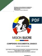 Mision Sucre Compendio Doc Basico 2004