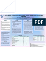 Patient Transfer Forms Enhance Key Information Between Nursing Homes and Emergency Department