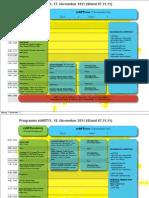 Das stART11 Programm (Stand 07.11.2011/2)