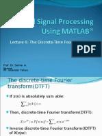 Dsp Using Matlab® - 6