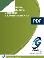 GAM Gear Reducer 2011 Catalog