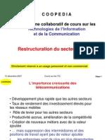 Restructuration Secteur TIC