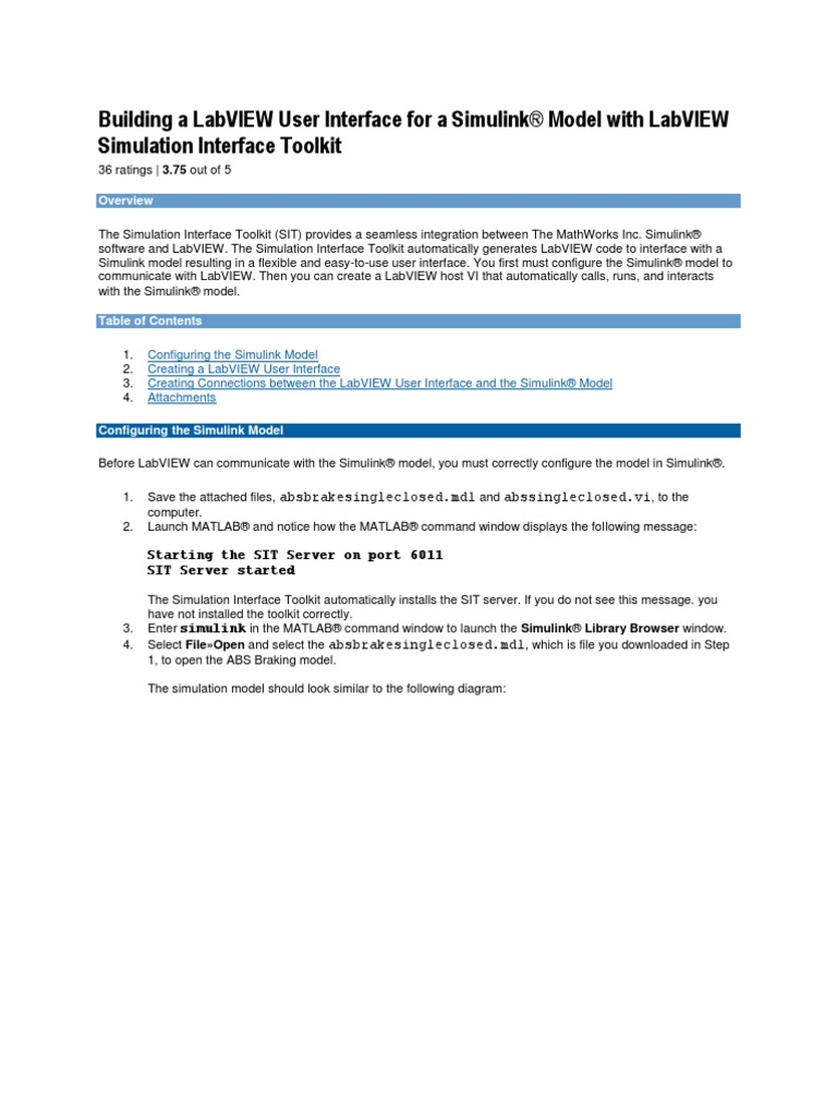 Tutorial for Sit 2 0   Matlab   User Interface