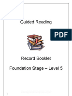 Guided Reading Levels