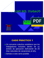 Derecho Del Trabajo. Supuestos prácticos tema 1