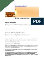 Strahlenfolter - Britta Leia Jaccard aus Oberhausen