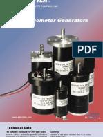 Servotek Tachometer 2011 Catalog
