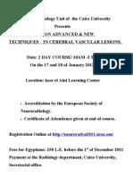 Lamia Program Neuroradiology Course