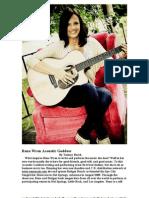Rena Wren Acoustic Goddess
