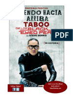Cayendo Hacia Arriba by Taboo —read about how Tab hit rock bottom and pulled himself up again (Spanish edition)