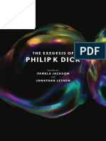 THE EXEGESIS OF PHILIP K DICK