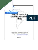 guía de negocios e impuestos en el Perú.