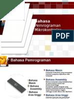 Bahasa Pemrograman Mikrokontrler