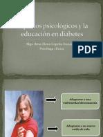 Aspectos psicológicos y la educación en diabetes