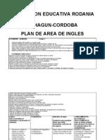 Pla de Area de Ingles de Primaria[1]
