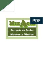 MixAcid - Correção da Acidez de Mostos e Vinhos