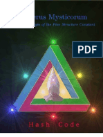 Numerus Mysticorum - The Divine Origin of the Fine Structure Constant