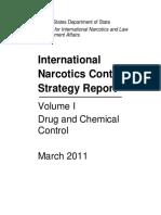 International Narcotics Control Strategy Report - USDOS