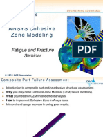 CAE Fatigue and Fracture Seminar - CZM for Web