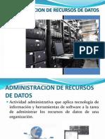 Admin is Trac Ion de Recursos de Datos