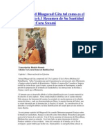 Srimad Bhagavad Gita tal como es el capítulo 6