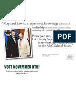 Maynard Law for ABC School Board