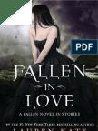 Fallen In Love by Lauren Kate Sample Chapter