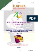 Algebra c4 Fracciones Algebraic As 2011