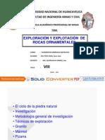 DEL POZO SOSA. Investigacion y Explotaci n de Rocas Ornament Ales