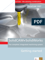 SolidCAM Getting Started