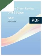 Online Green Review Unit 3.0
