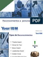 IBM_IBM Reconocimientos a Personal de Ventas F