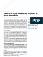 Diagnosis of Acute Appendicitis Selected for Critical Appraisal 1-4-2011 Gr2