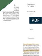 Ranciere-On the Shores of Politics- FULL TEXT