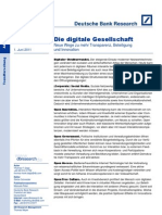 Die Digitale Gesellschaft