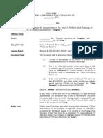 Term Sheet Series a Template 1