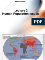 3 - Human Population Issues