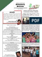 JORNAL ESCOLAR PRIMAVERA NOTÍCIAS - JUNHO / 2011