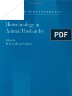 Biotechnology in Animal Husbandry Volume 5