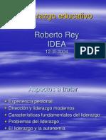 136 Liderazgo Educativo Roberto Rey