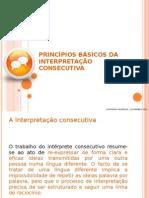 PRINCÍPIOS BÁSICOS DA INTERPRETAÇÃO C.