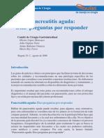 Manejo de Pancreatitis AGUDA ACCG