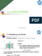 Aplikasi Integral 12